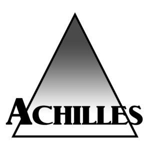 Achilles logo v1 white